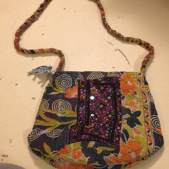Cost Plus World Market Handbags - World Market Bucket Bag- New